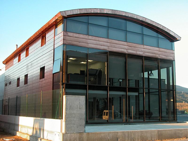 Fachadas panel ispasil for Oficinas abanca ourense
